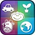 "HAPOC ""Human, Animal, Plant, Object, Country"" icon"