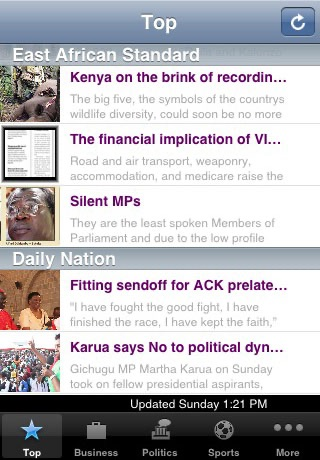 News - Kenya screenshot 1