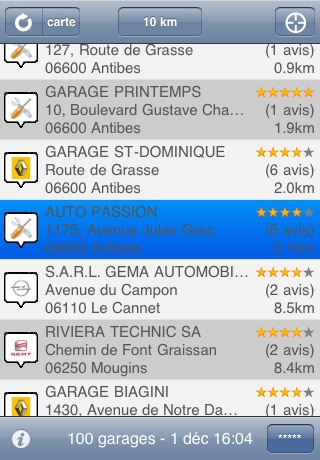 mobigarages screenshot 1