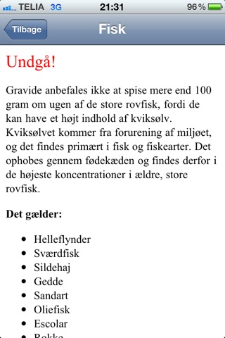 Mad til gravide screenshot 3