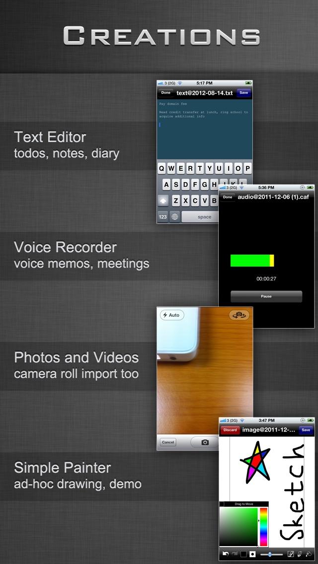 File Manager - Folder Plus LiteScreenshot of 3