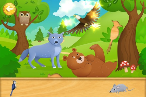 Animal Puzzle Fun for Toddlers and Kids HD screenshot 2
