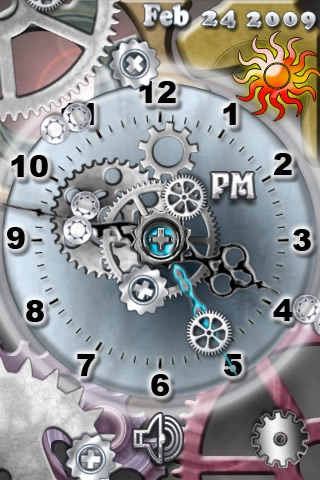 Chrome Clock 2 Screenshot
