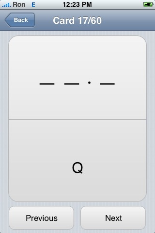 iStudy: Morse Code screenshot 3