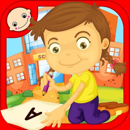 PreSchool Letter Writing - Learning Games for Kids in Preschool, K-12, Kindergarten iOS App
