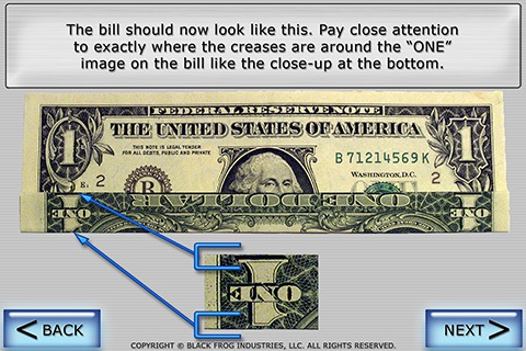 Dollar Ring Origami screenshot 4