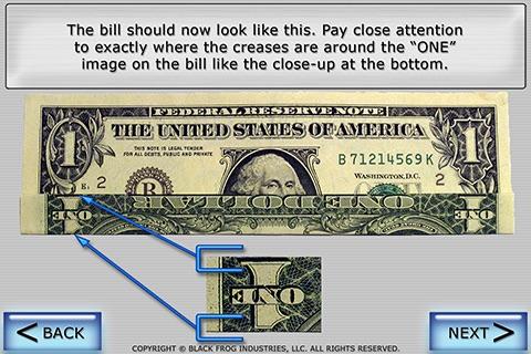 Dollar Ring Origami screenshot 4