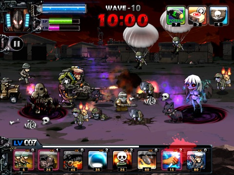 Screenshot #1 for ARMY VS ZOMBIE