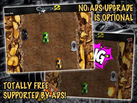 Screenshots of Rapid 2: Fast Track Car Racing for iPad