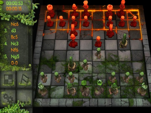 Chess: Battle of the Elements HD screenshot 3