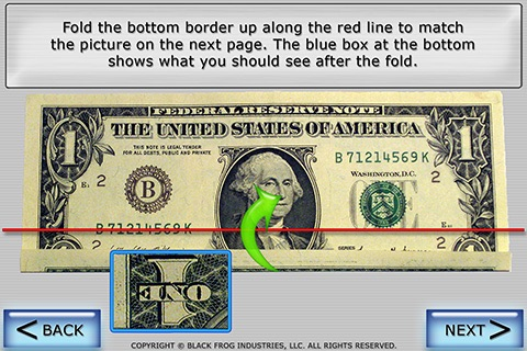 Dollar Ring Origami screenshot 3
