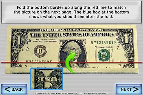 Dollar Ring Origami screenshot 3