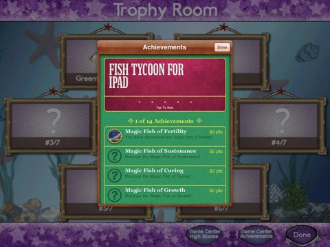 Игра Fish Tycoon for iPad