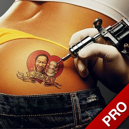 Pimp your body tattoo catalog and maker iphone for Tattoo generator on body