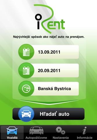 iRent.sk screenshot 1