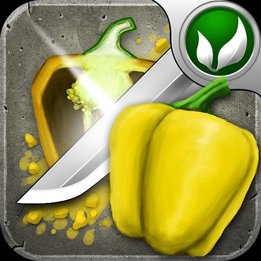 蔬菜武士Veggie Samurai【媲美水果忍者】