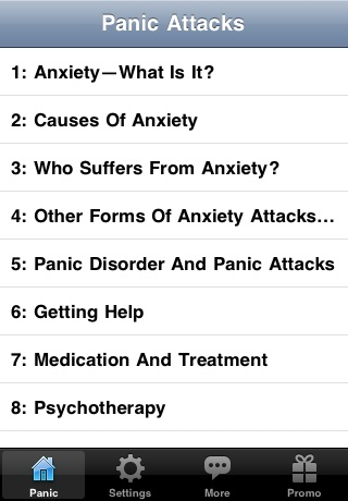 How to Stop and Cure Panic Attacks screenshot 2