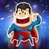 A super hero - Supereroe nello spazio. Gioco d'azione da un'altra galassia! Essere un eroe, volare con le stelle, combattere guerre, raccogliere tesori, battere il male