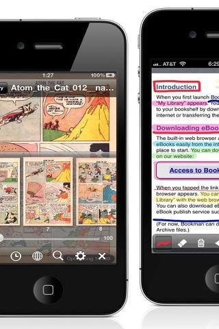 PDF/Comic Reader Bookman Pro for iPhone screenshot 2