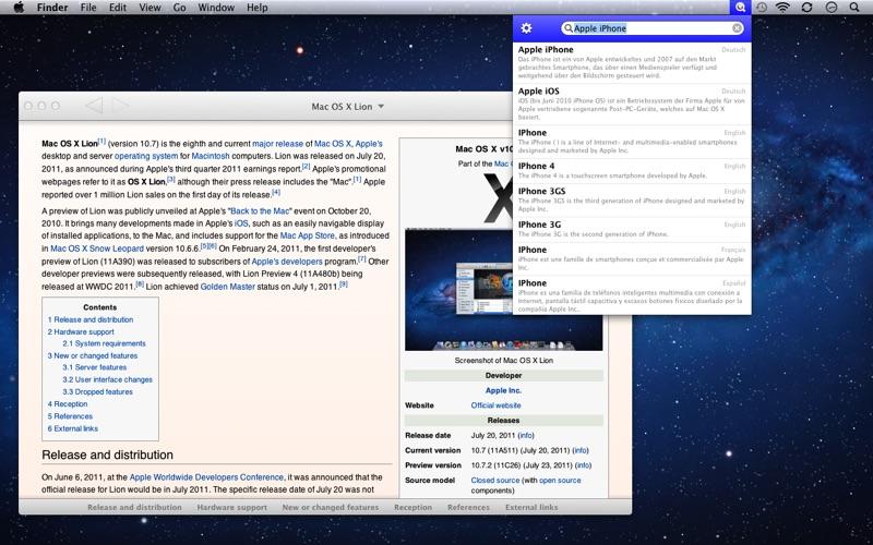 Screenshot #1 pour WikiBuddy