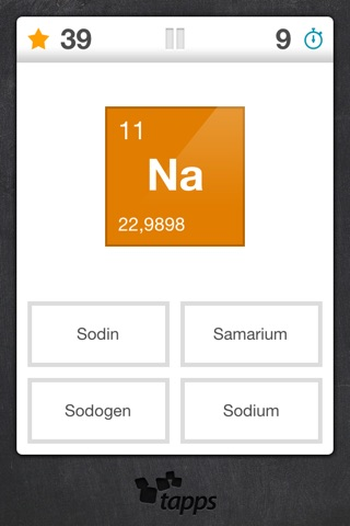 Elements periodic table element quiz on the app store iphone screenshot 3 urtaz Images