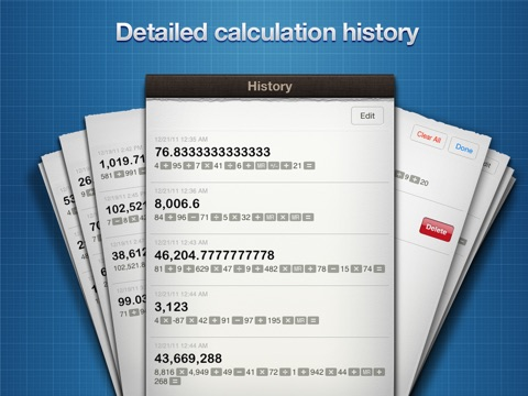 Calculator • screenshot 3