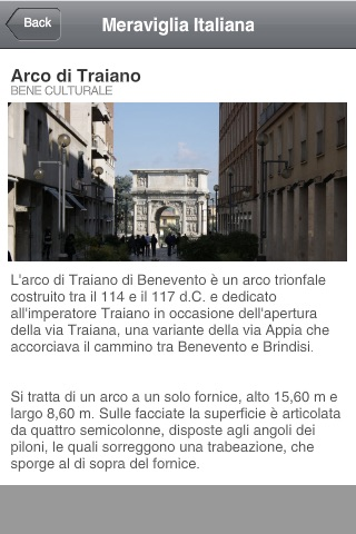 Meraviglia Italiana App screenshot 3