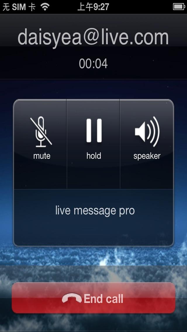 Live Messenger Pro review screenshots