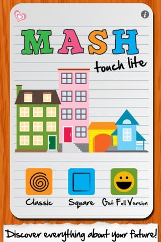 MASH Touch Lite screenshot 1