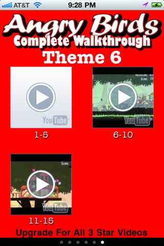 download Free 3 Star Videos for Angry Birds apps 1