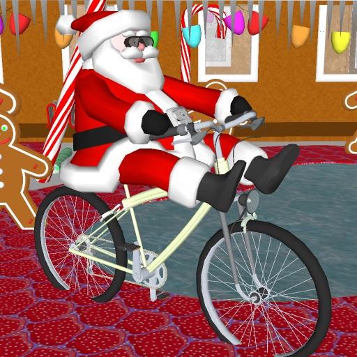 Santa on a Bike FREE iOS App