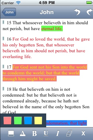 Holy Bible ✝ screenshot 1
