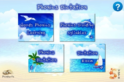 English Phonics Dictation 7 screenshot 1