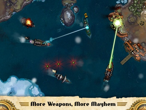 Crimson: Steam Pirates Screenshot