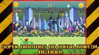 Мега Kart Racing Зло Blob Ninnyons Бесплатные игрыСкриншоты 1