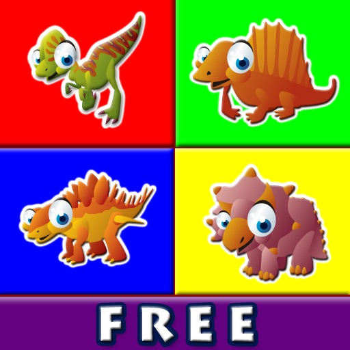 Abby Connect the Dots - Dinosaurs HD Free Lite iOS App