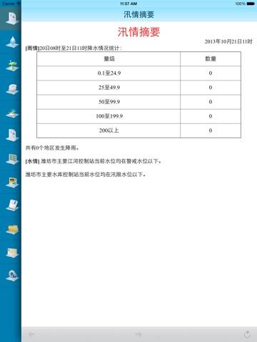 潍坊防汛通 screenshot 1
