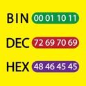Bin Dec Hex Converter icon