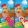 Oster Finde die Unterschiede für Kinder und Erwachsene - Ostern feiern