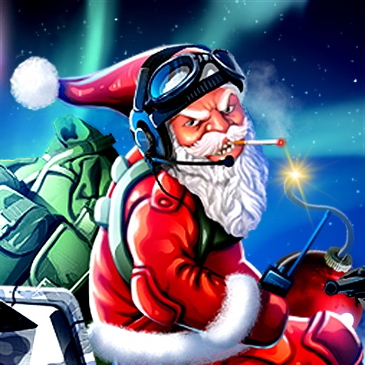 Bad Santa Bomber iOS App