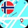 Noruega Offline Mapa