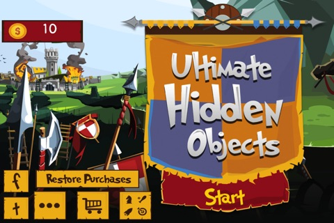 Hidden Objects : Ancient Egyptian Objects screenshot 1