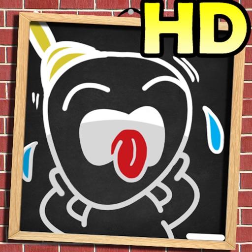 黑板上的可爱涂鸦:Picture Hangman HD【构图大考验】