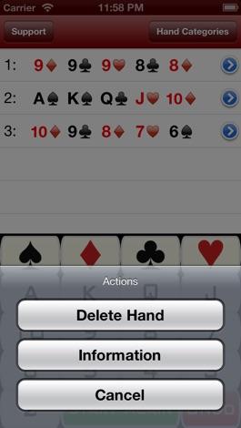 Poker hand calculator free