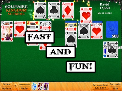 Solitaire Kingdom Supreme HD screenshot 3