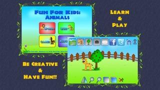 Fun For Kids: Animalsのおすすめ画像1