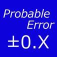 Probable Error