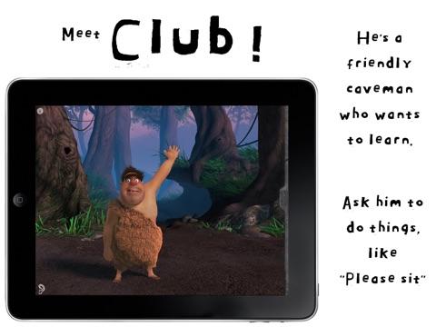 山顶洞人克拉伯:Club Caveman