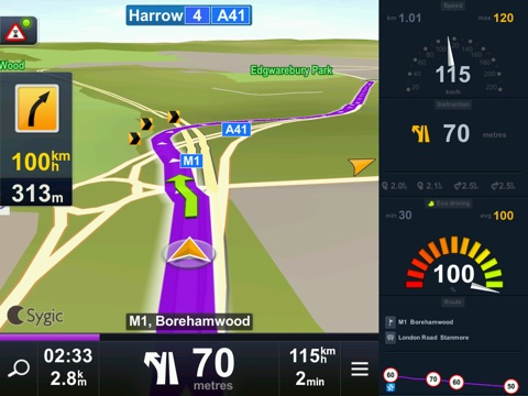 Screenshot #3 for Sygic Iran: GPS Navigation