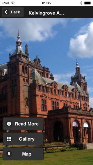 Glasgow Stadtführer 2014 Screenshot
